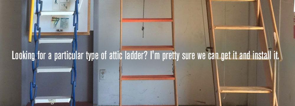 on installing new attic door